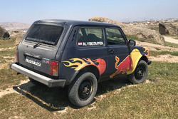 Lada Niva of Max Verstappen, Red Bull Racing