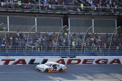 Spencer Gallagher, GMS Racing, Chevrolet Camaro Allegiant celebrates his win