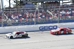 Kaz Grala, JGL Racing, Ford Mustang NETTTS, Garrett Smithley, JD Motorsports, Chevrolet Camaro teamjdmotorsports.com