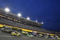 Brett Moffitt, Hattori Racing Enterprises, Toyota Tundra and Grant Enfinger, ThorSport Racing, Ford F-150 Champion Power Equipment/Curb Records