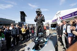 Nico Rosberg, Formula 1 World Champion, Formula E investor, with the new Gen2 Formula E Car