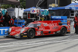 #99 JDC/Miller Motorsports ORECA 07, P: Stephen Simpson, Mikhail Goikhberg, pit stop