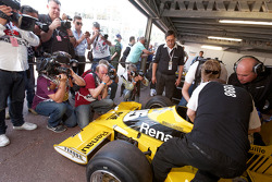 Jean-Pierre Jabouille in seinem Renault F1