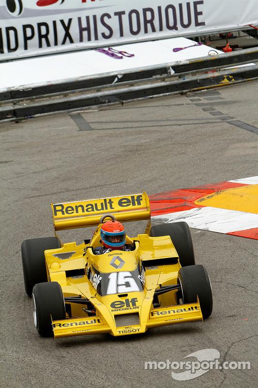 Jean-Pierre Jabouille con su Renault F1