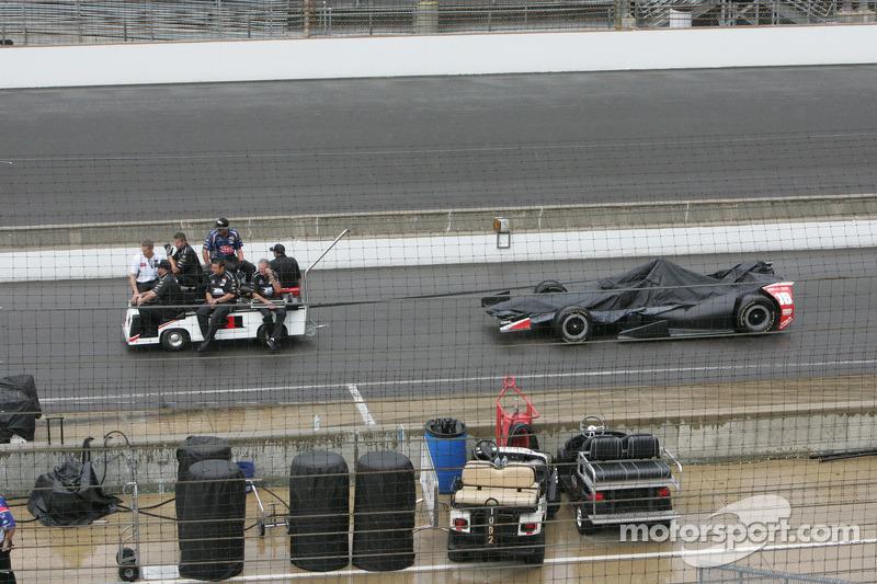 La vettura di Carlos Huertas, Dale Coyne Corse Honda