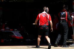 Marussia F1 Team mechanic