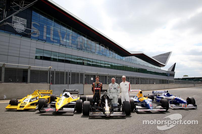 Derek Warwick, Romain Grosjean ve Damon Hill