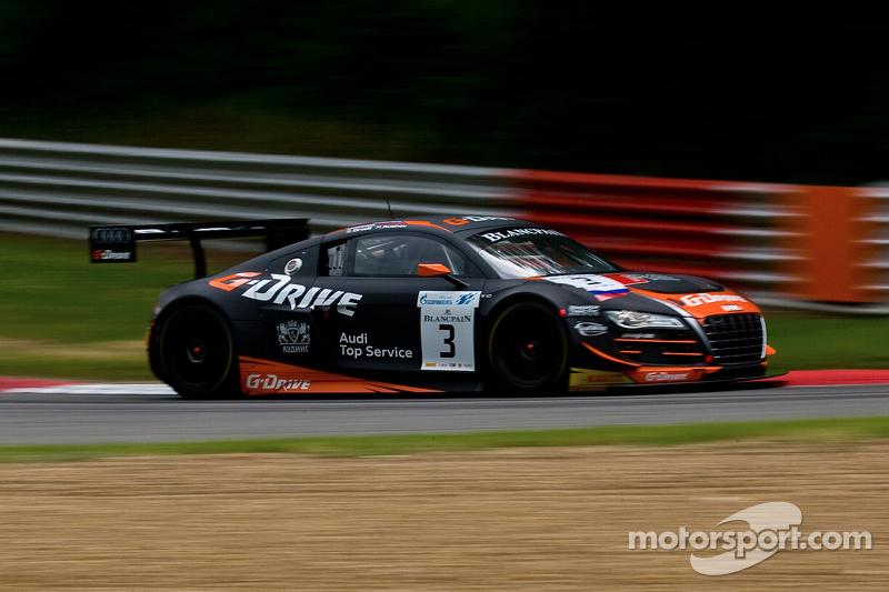 #3 G-Drive Racing 奥迪 R8 LMS Ultra: 罗曼·鲁斯诺夫, 斯蒂芬·奥尔特利