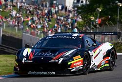 #90 Scuderia Villorba Corse 法拉利 458 Italia: 菲利普·萨拉夸尔达, 安德里亚·蒙特米尼
