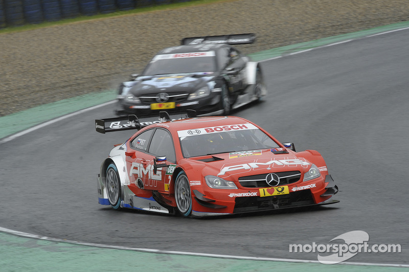 Vitaly Petrov, Mercedes AMG, DTM Mercedes AMG C-Coupe,