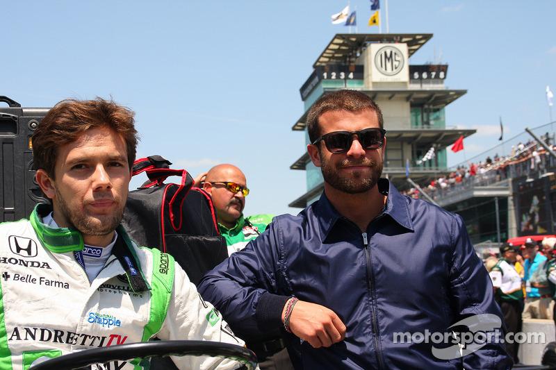 Carlos Muñoz, Andretti Autosport Honda y E.J. Viso
