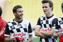 Jules Bianchi, Marussia F1 Team, at the charity football match