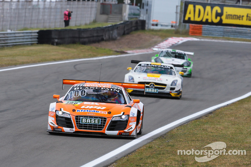 #100 kfzteile24 APR Motorsport 奥迪 R8 LMS ultra: 丹尼尔·多布奇, 弗洛里安·斯托尔