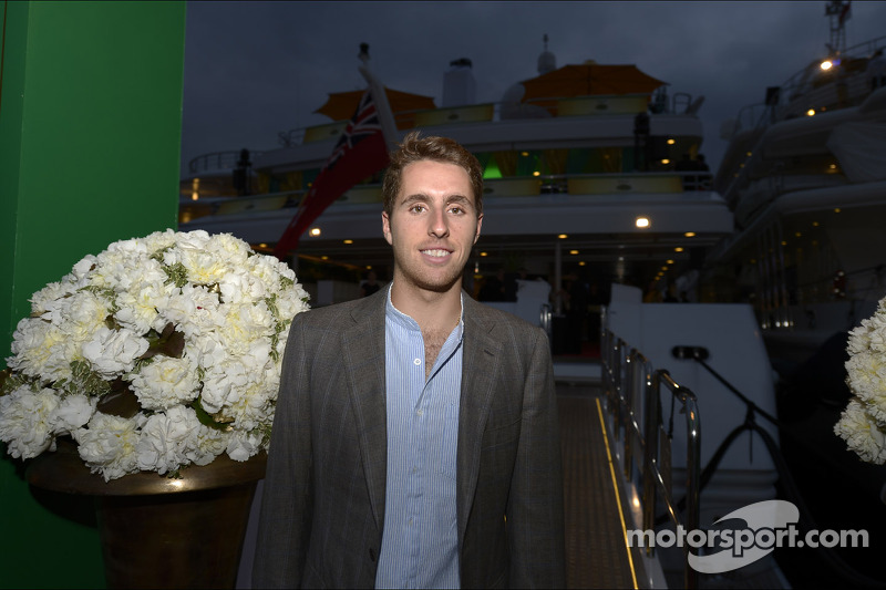 Daniel Juncadella, Sahara Force India F1 Team Test and Reserve Driver at the Signature Monaco Party