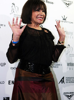 Shirley Bassey, Singer at the Amber Lounge Fashion Show