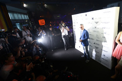 Eddie Irvine, en el Amber Lounge Fashion Show