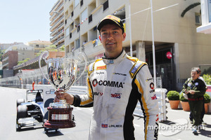 Race winner Jolyon Palmer