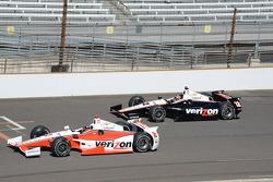 Juan Pablo Montoya, Penske Racing Chevrolet and Will Power, Penske Racing Chevrolet