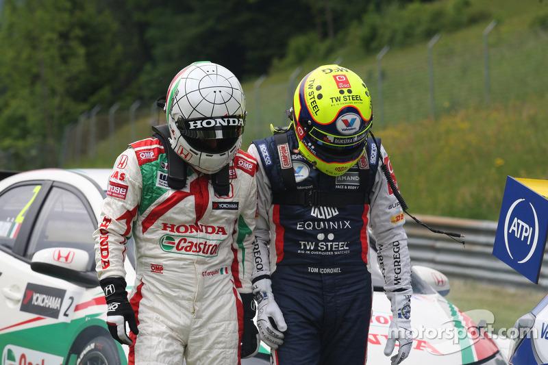 Gabriele Tarquini, Honda Civic WTCC, Castrol Honda WTCC Takımı ve Tom Coronel, Chevrolet RML Cruze T