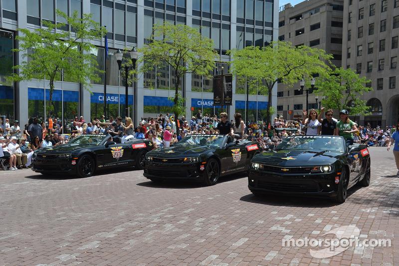 Indy 500 geçit töreni