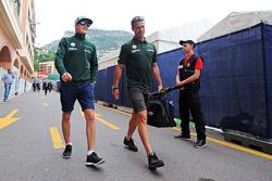 Marcus Ericsson, Caterham on the drivers parade