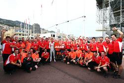 Жюль Бьянки. ГП Монако, Воскресенье, после гонки.