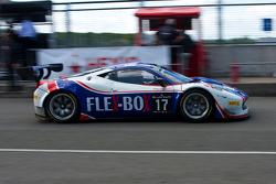#17 Insightracing com Flex-Box Ferrari 458 Italia: Dennis Andersen, Martin Jensen