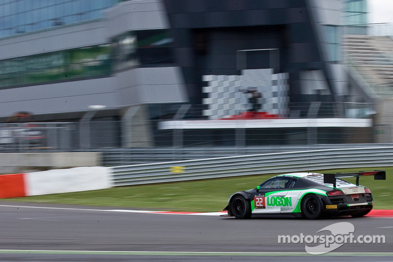 #22 Team Parker Racing 奥迪 R8 LMS Ultra: 伊恩·洛吉, 克里斯·琼斯, 朱利安·韦斯特伍德