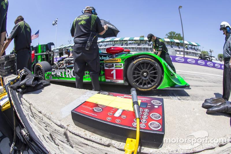 #1 Extreme Speed Motorsports HPD ARX-03b 本田: 斯科特·夏普, 瑞恩·迪埃尔