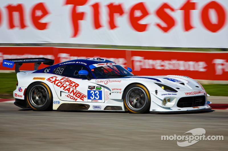 #33 Riley Motorsports SRT Viper GT3-R: Jeroen Bleekemolen, Ben Keating