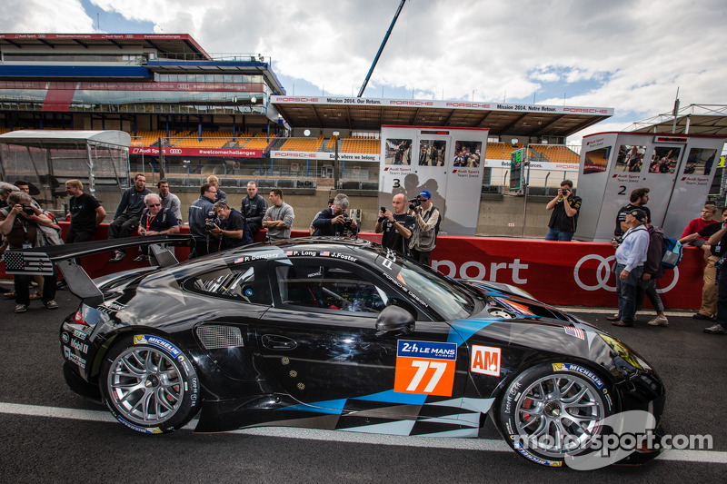 77 Dempsey Racing Proton Porsche 911 Rsr 991 At 24 Hours Of Le