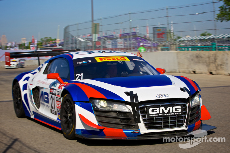 #21 Global Motorsports Group 奥迪 R8: 安德鲁·帕默