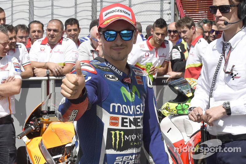 Ganador e la pole Jorge Lorenzo, Yamaha Factory Racing