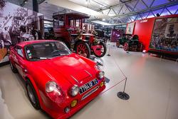 Vintage carros exibição