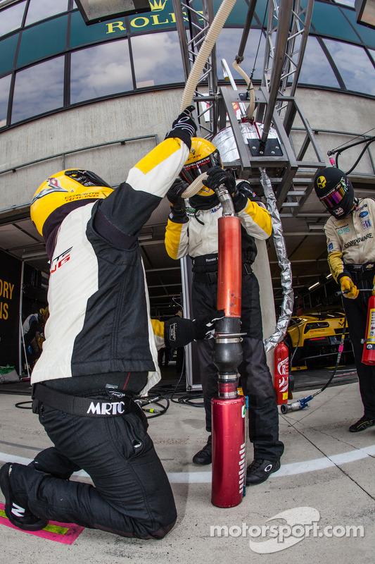 Corvette Racing yakıt ikmali