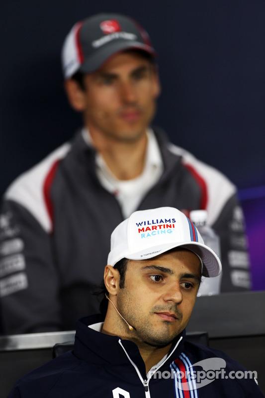 FIA-Pressekonferenz: Felipe Massa, Williams