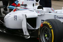 Williams FW36 sidepod detayı