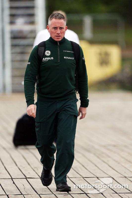 Tom Webb, Caterham F1 Team assessor de imprensa