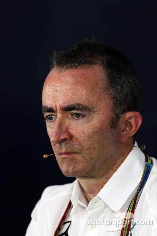 Paddy Lowe, Diretor Executivo da Mercedes AMG F1, na Conferência de Imprensa da FIA