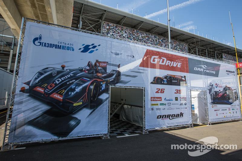 G-Drive Racing Morgan padok alanı