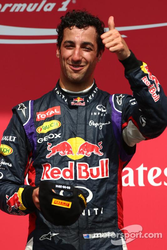 1st place Daniel Ricciardo, Red Bull Racing