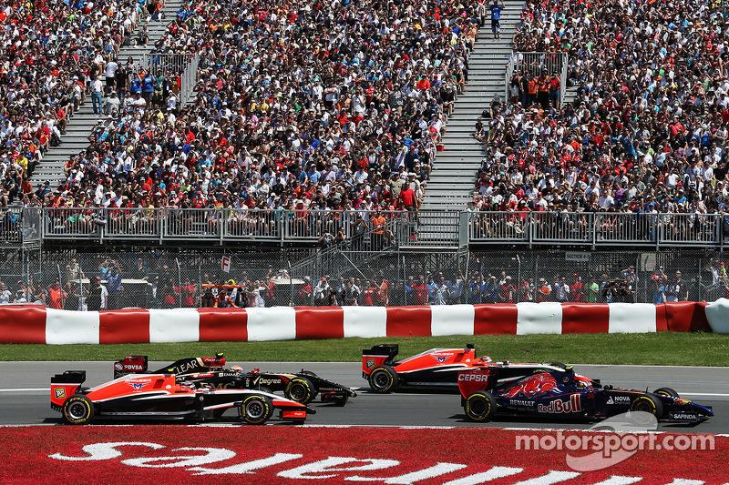 Daniil Kvyat, Scuderia Toro Rosso STR9, Jules Bianchi, Marussia F1 Takımı MR03, Pastor Maldonado, Lo