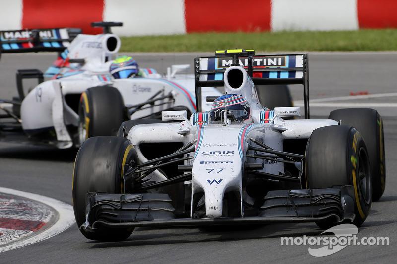 Valtteri Bottas, Williams F1 Team e Felipe Massa, Williams F1 Team 08