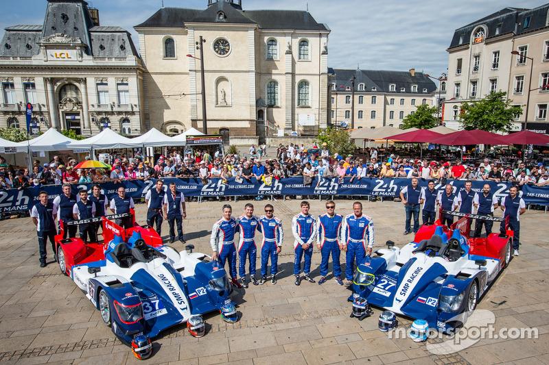 #37 SMP Racing Oreca 03 - 日产: 基里尔·拉德金, 尼古拉·米纳西安, 毛里奇奥·梅迪安尼, #27 SMP Racing Oreca 03 - 日产: 谢尔盖·兹洛宾, 米卡·萨罗, 安通·拉德金