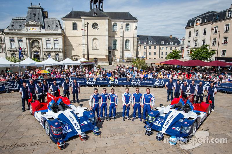 #37 SMP Racing Oreca 03 - 日产: 基里尔·拉德金, 尼古拉·米纳西安, 毛里奇奥·梅迪安尼, #27 SMP Racing Oreca 03 - 日产: 谢尔盖·兹洛宾, 米