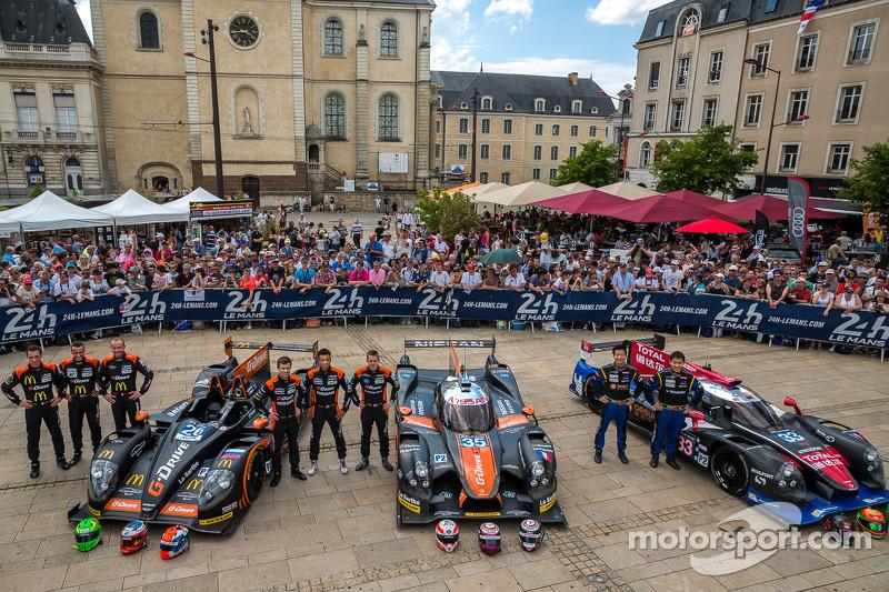 #26 G-Drive Racing 摩根 - 日产: 罗曼·鲁斯诺夫, 奥利弗·普拉, 朱利安·卡纳尔; #35 OAK Racing Ligier - 日产: 阿历克斯·布伦德尔, 詹恩·马登堡, 马克·舒尔茨斯基; #33 OAK Racing - 亚洲 Ligier JS P2 - HPD: 程飞, 董荷斌, 方骏宇