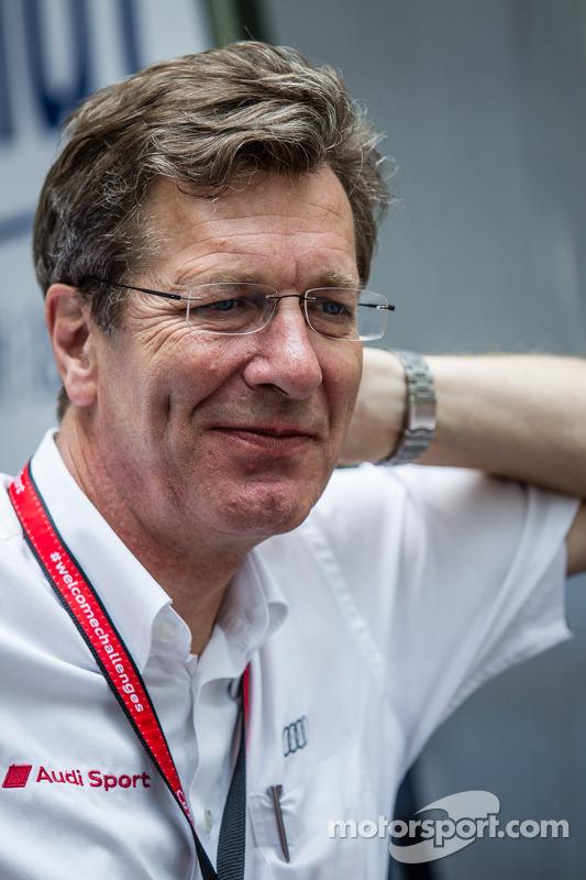 Ralf Jüttner, diretor do Audi Sport Team Joest