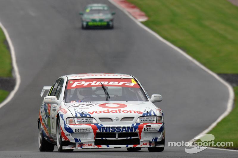 Graham Dodd, Anthony Reid 1998  BTCC Nissan Primera ST