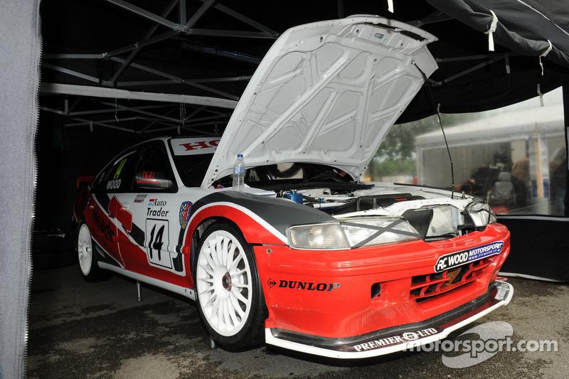 Ex Gabrielle Tarquini 1997 BTCC Honda Accord ST