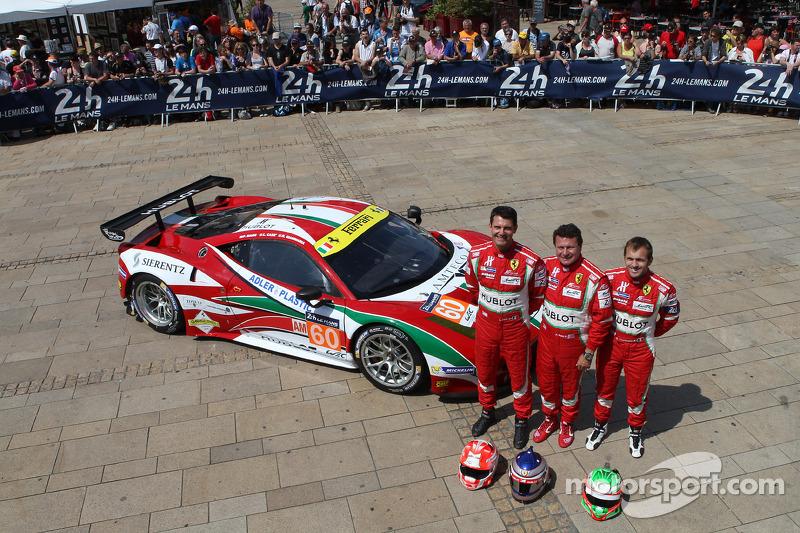 #60 AF Corse 法拉利 458 Italia: 彼得·阿什利-曼恩, 洛伦佐·卡塞, 拉法埃莱·吉安玛利亚
